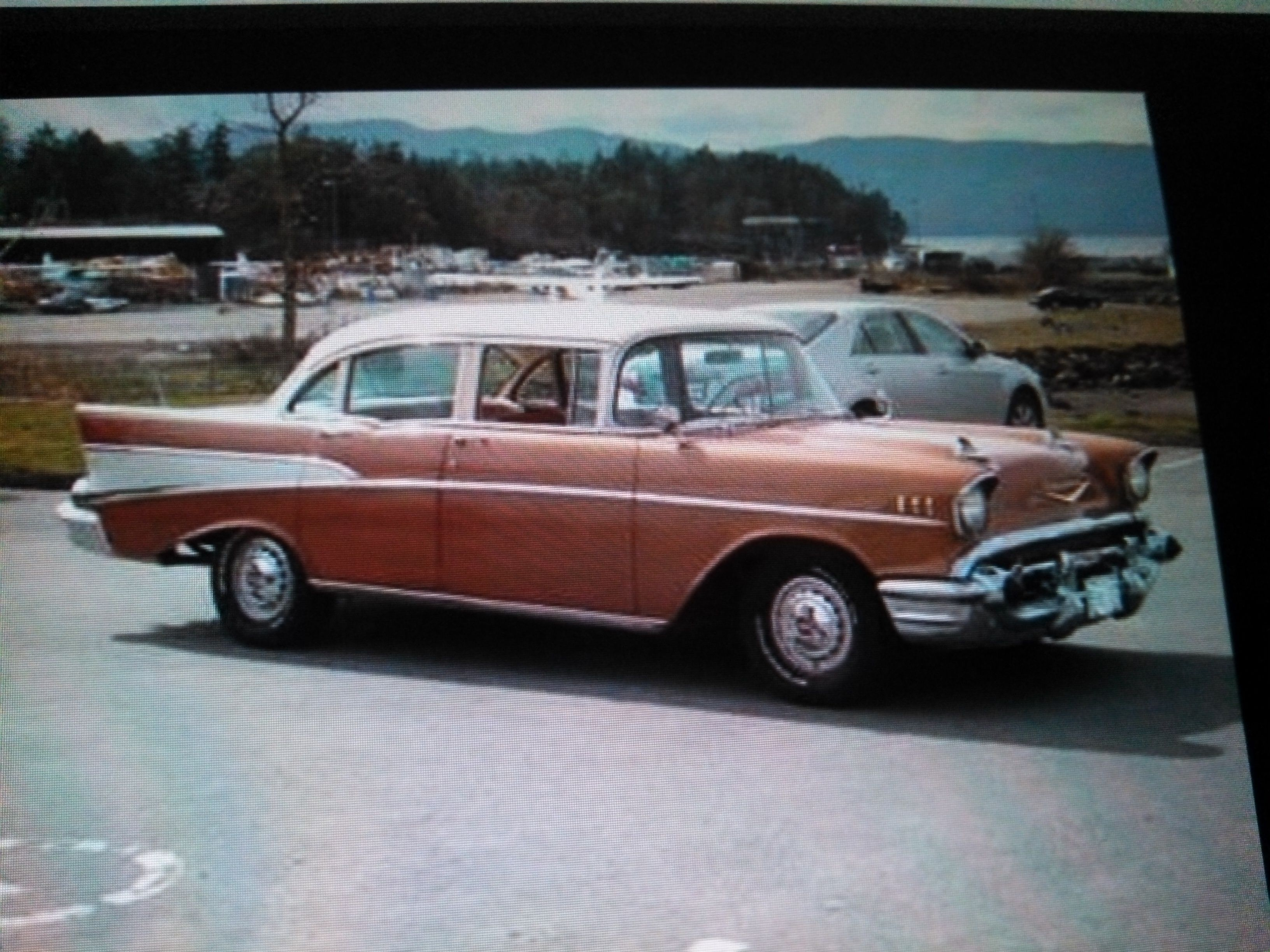 What colour car not to buy - Just Like My First Car A 1957 Chevrolet Not My Favorite Color But