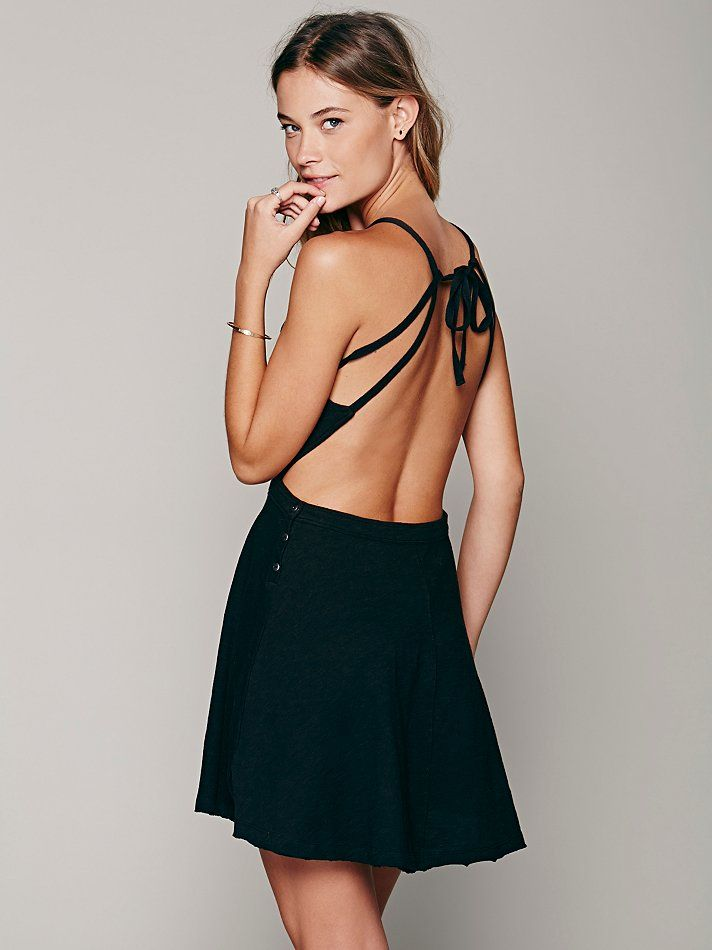 346ba75f8871 Free People Tatiana Sexy Back Mini