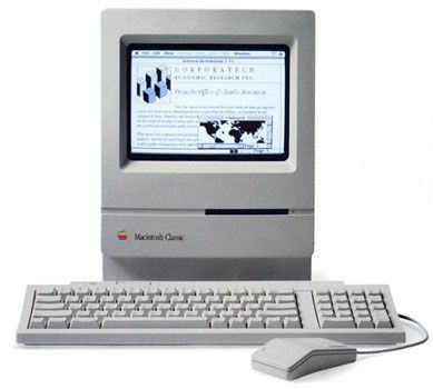 Macintosh SE/30. Making awesome greeting cards since 1989. I thought I was The Shit.
