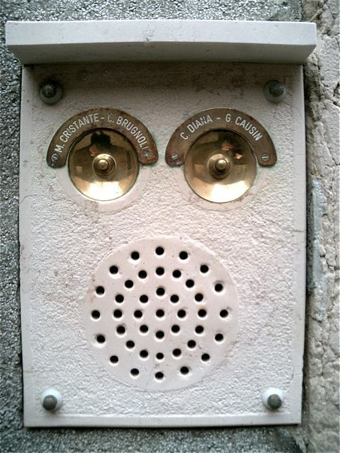 italian robot head door buzzers & italian robot head door buzzers | Imaginative Bells Knockers ...