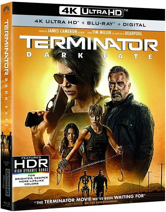 4k Ultra Hd Review Schwarzenegger Hamilton Are Back In Top Form In Terminator Dark Fate In 2020 Terminator Terminator Movies Blu Ray