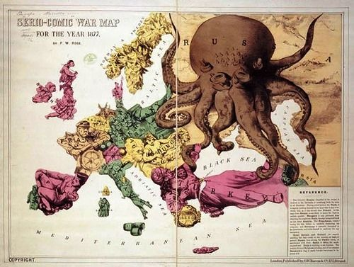 the map showing the aggressive russian empire as an octopus was Connect the Dots Mapping Organizations the map showing the aggressive russian empire as an octopus was created in japan during the russian japanese war of 1905