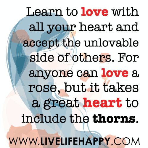 Learn to love with all your heart