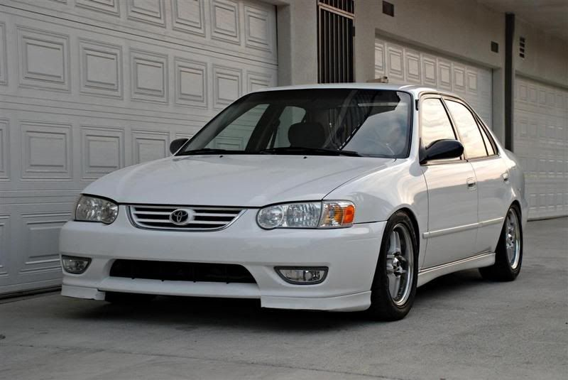 Found Some TRD Front Lip And TRD Rear Spoiler Description From - 2001 corolla
