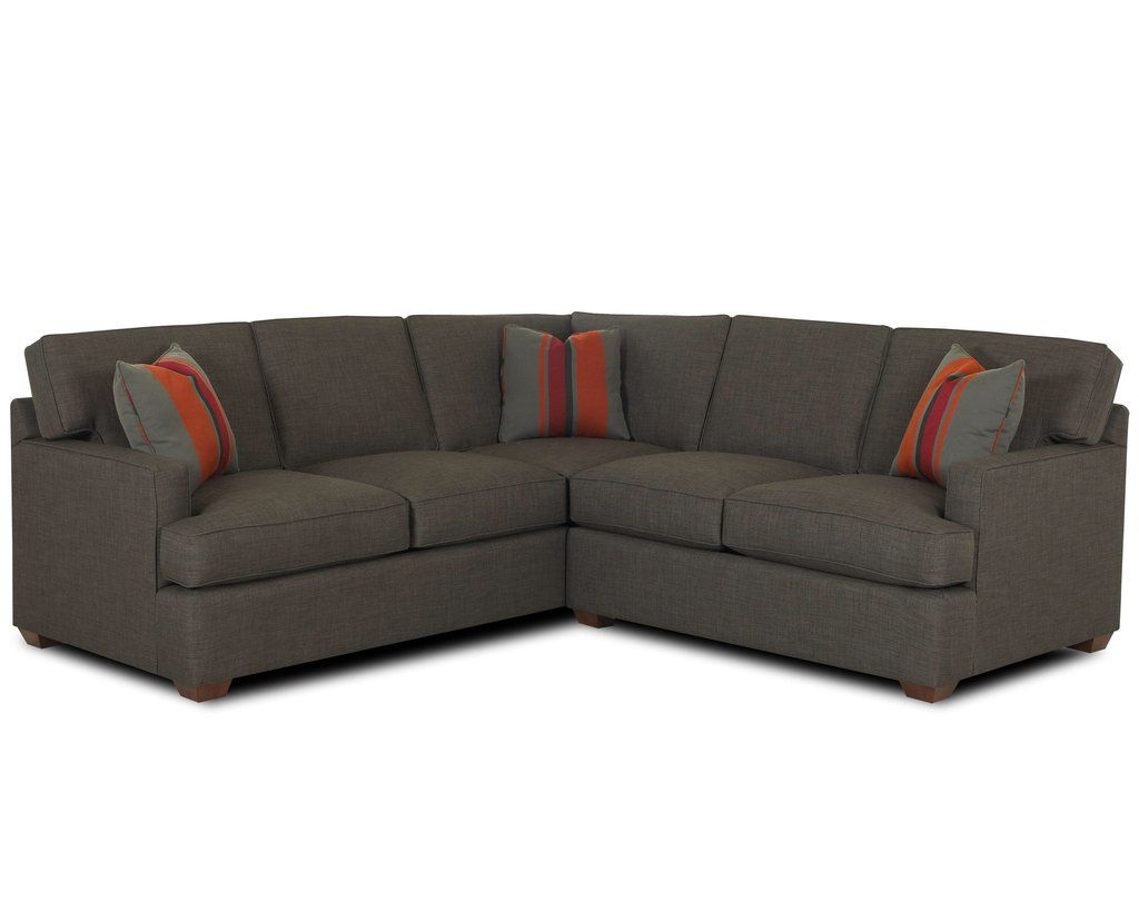 Loomis 2 Piece Sectional Sofa Group By Klaussner At Stuckey Furniture