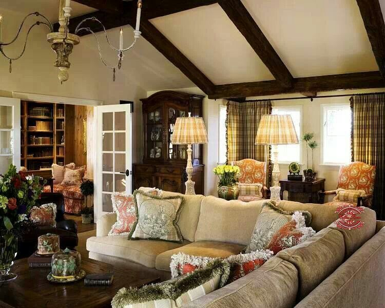 Living Country Living Room Design Country Family Room French Country Family Room