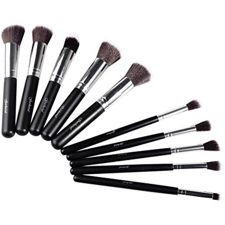 Garberiel 10x Makeup Brush Set Cosmetic Foundation