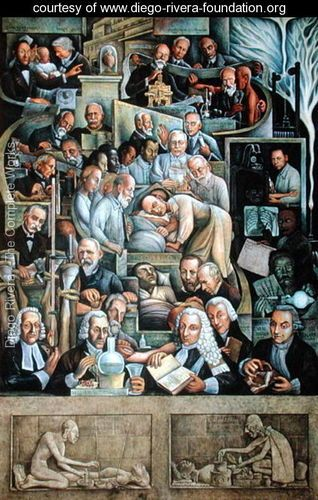 Diego rivera sought to make art that reflected the lives for Diego rivera mural new york rockefeller