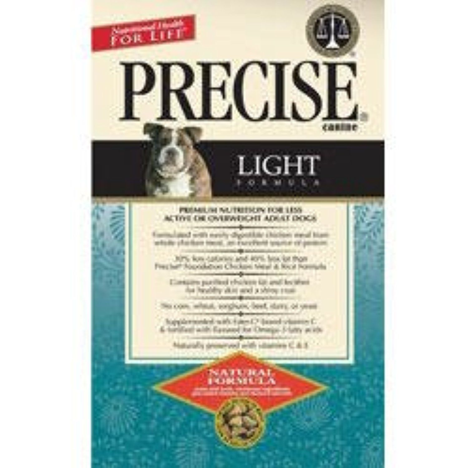 Precise 726021 5 Pack Canine Light Dry Food 5 Pound To Have