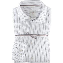 Olymp Level Five Smart Business Shirt, body fit, Kent, White, 43 Olympus, #Body #Business #F...