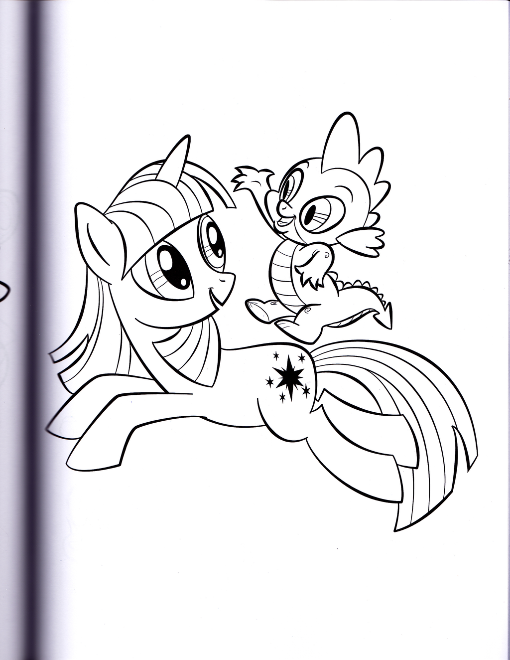 My Little Pony Ausmalbilder Spike : Pin By Moonflame On Mlp Tutorials Sketches Pinterest Mlp And