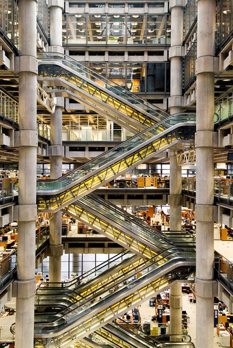 Lloyds Of London Richard Rogers Photo By Andrew Beasley