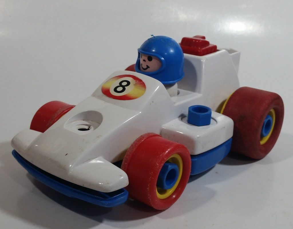 1984 Fisher Price Toys 184 Formula 1 Race Car Pull Back ...