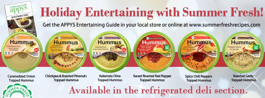 Summer Fresh Makes Entertaining Easy Giveaway