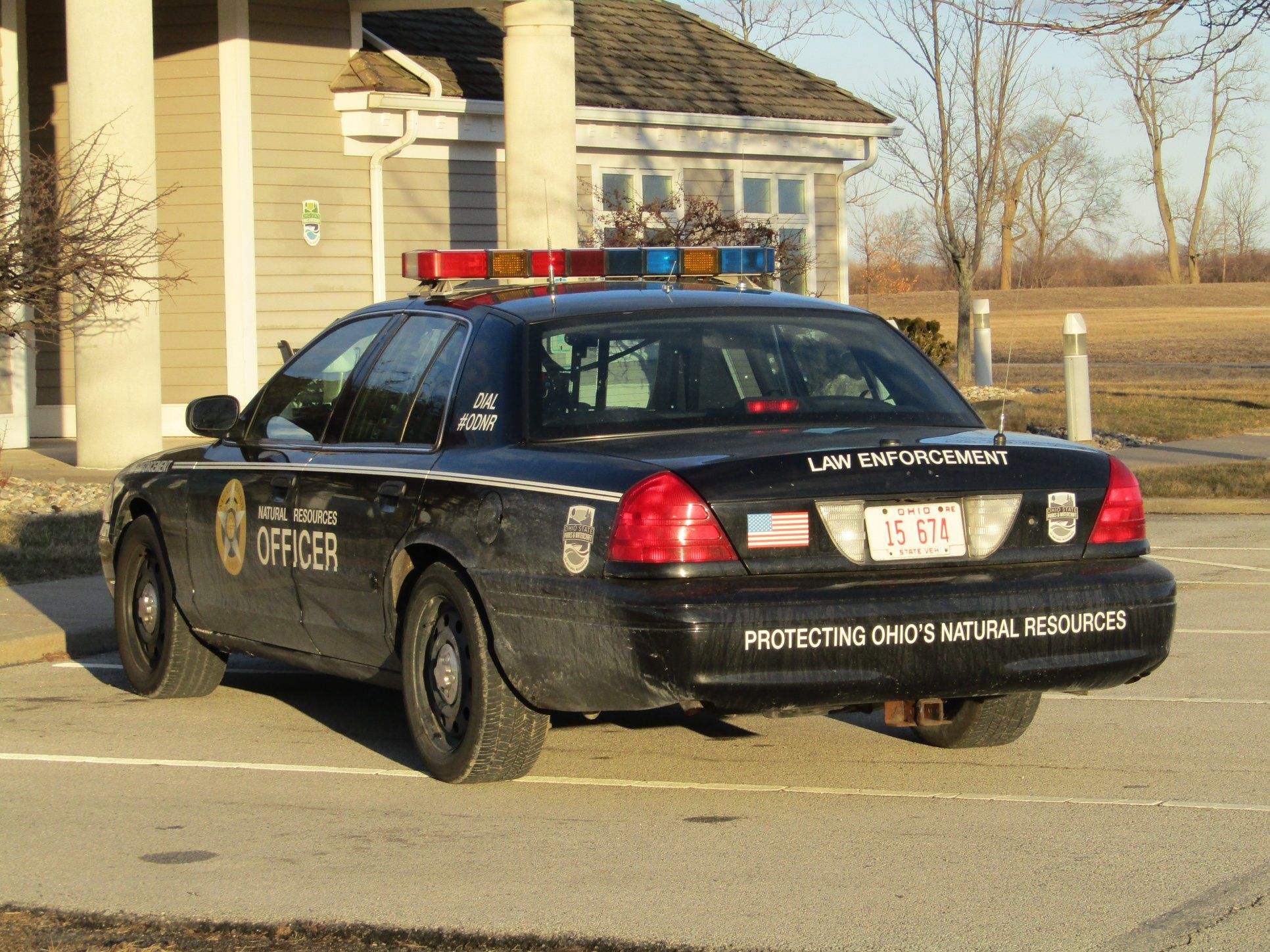 Ohio Natural Resources Officer 15 674 Ford Cvpi Victoria Police Police Cars Fairlane