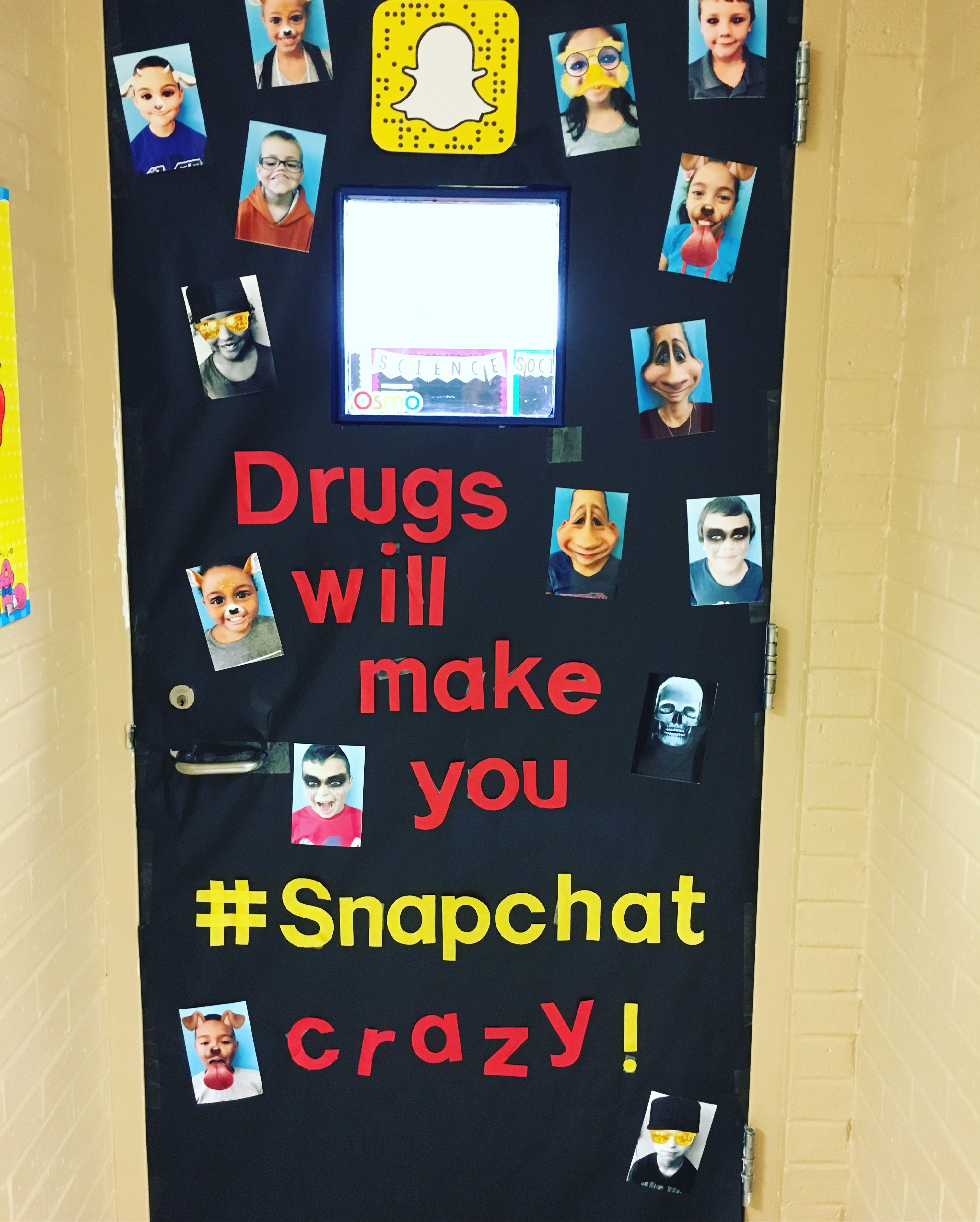 Drug Free Door