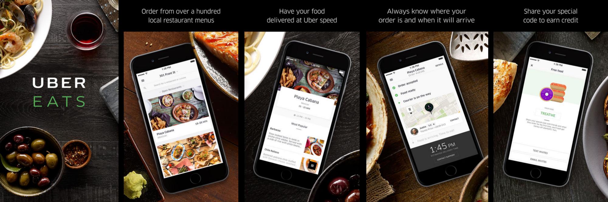 Uber Eats App Store Screenshots App store, Store image, App