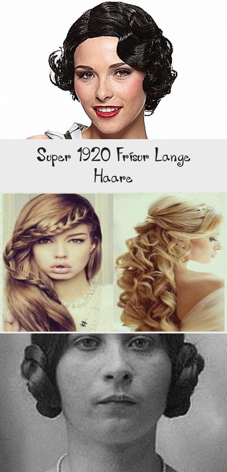Super 1920 Frisur Lange Haare Going Out Hairstyles Quick Hairstyles Weave Hairstyles