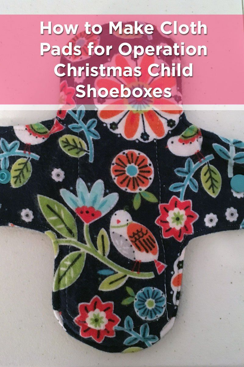 These are reusable cloth pads for girls in the 10 to 14