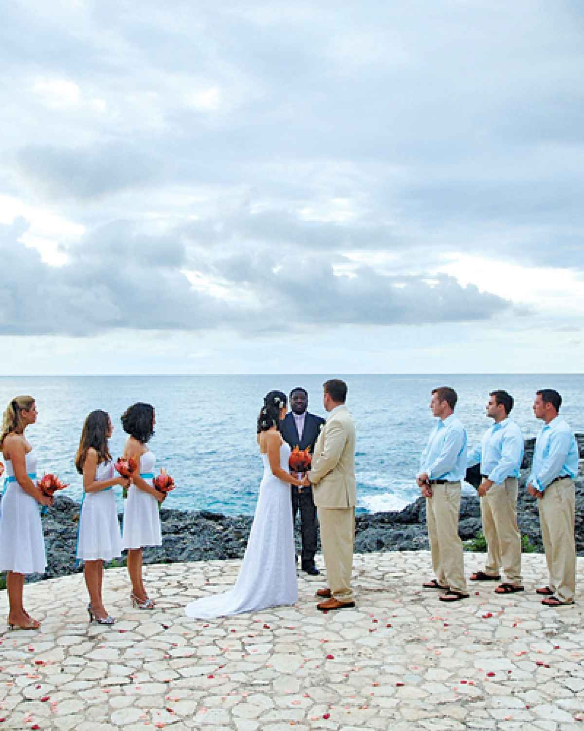 Caribbean Wedding Flowers: Couples Swept Away, Jamaica 12 Best Caribbean Beaches For