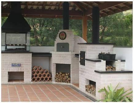 churrasqueira e fogão a lenha de alvenaria - Pesquisa Google