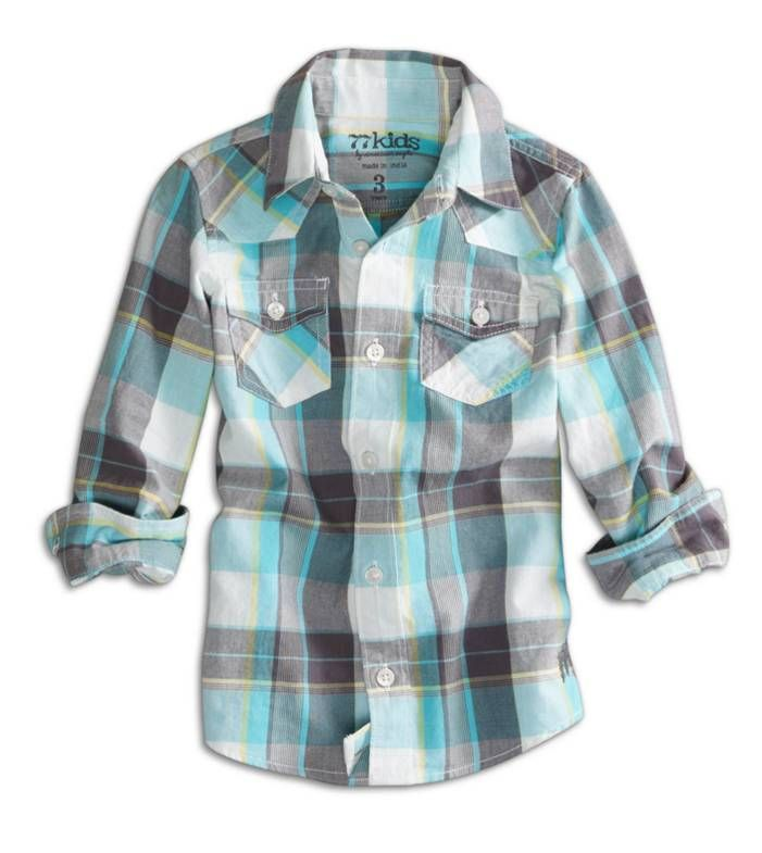 Pin By Stephanie Steffan On Children S Clothing Stylish Boy Clothes Kids Plaid Shirt Cute Outfits For Kids