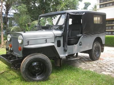1981 Mahindra 560 D Long Chassis Jeep Mahindra Major Jeep
