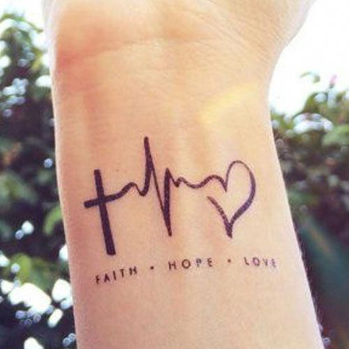 nice Meaningful Tattoos - Cute Wrist Tattoos #tattoosforgirls - Today Pin