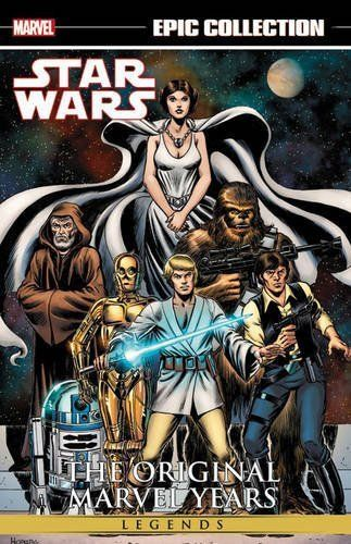 Star Wars Legends Epic Collection The Original Marvel Ye Https Www Amazon Com Dp 1302902210 Ref Cm Star Wars Comics Star Wars Comic Books Star Wars Books