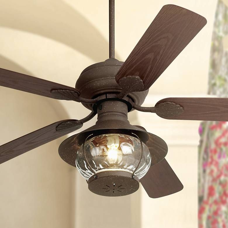 52 Casa Vieja Rustic Indoor Outdoor Ceiling Fan 9t624 Lamps