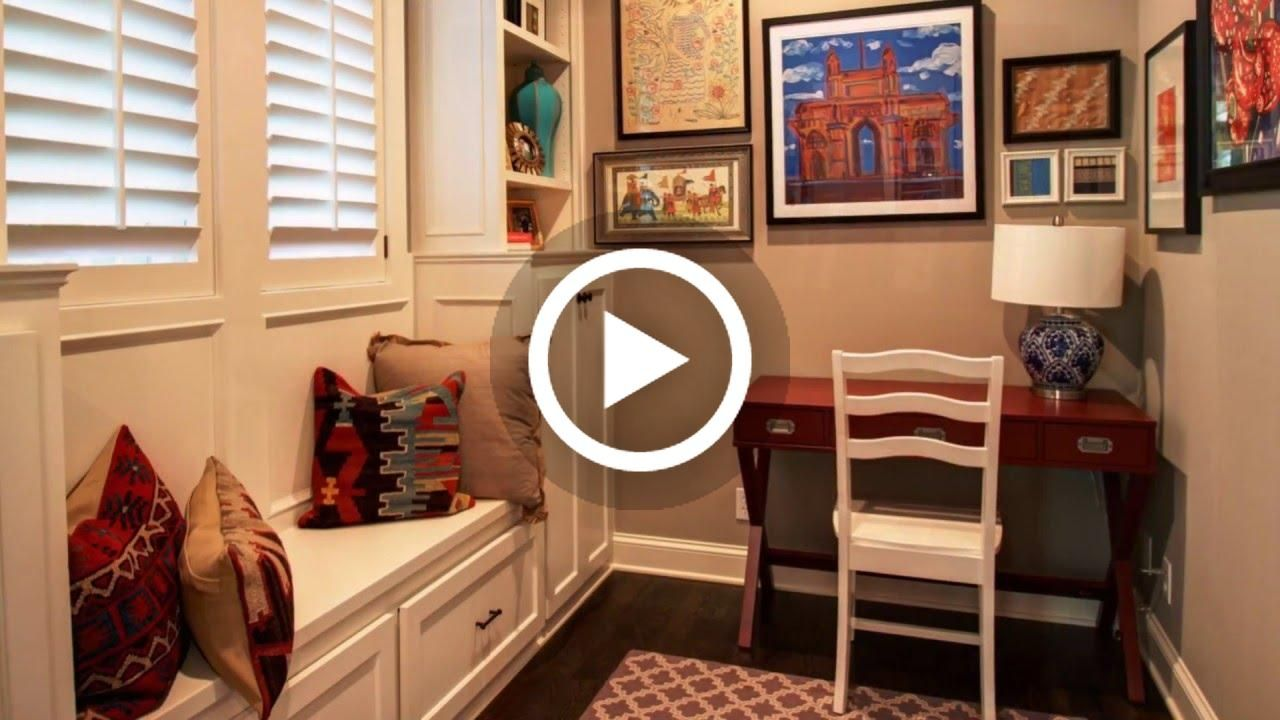 VIDEO: Small Desks for Small Spaces - Home Office Ideas #lighting ...