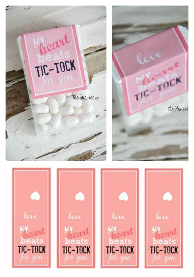 Tick Tocks | 40 DIY Valentine\'s Day Gifts They\'ll Actually Want ...