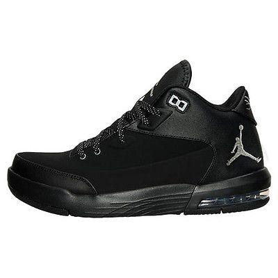 91cce8d403e0 Nike Jordan Flight Origin 3 Mens 820245-010 Black Nubuck Shoes Sneakers Size  8
