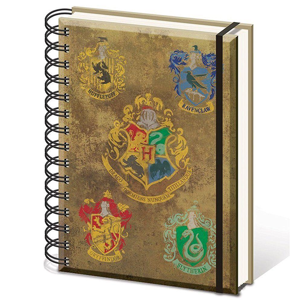 """Harry Potter sr72083, """"Hogwarts Kamm A5Spiralbindung"""" Notebook: Amazon.de: Spielzeug"""