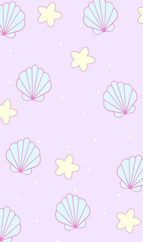 Imagem De Background Wallpaper And Cute Mermaid Wallpapers Kawaii Wallpaper Iphone Wallpaper