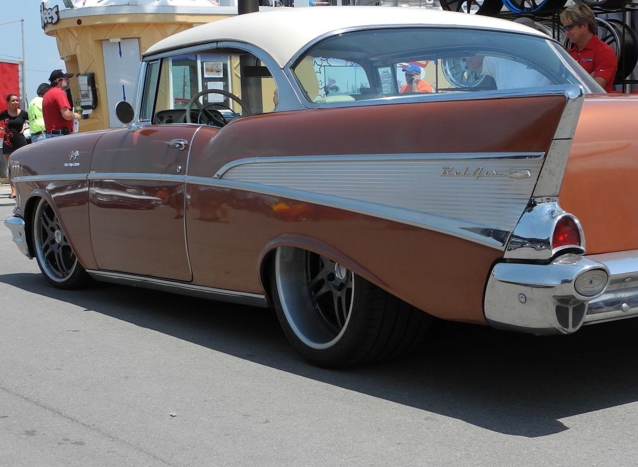 This beautiful '57 Chevy Bel Air, by Alabama's Rods