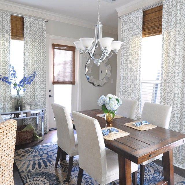 Dining Room Color Schemegrey Walls Ivorygrey Curtains And Extraordinary Dining Room Color Schemes Decorating Inspiration