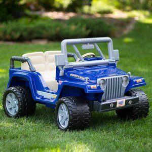 Toys Power Wheels Jeep Jeep Wrangler Rubicon Power Wheels