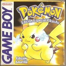 Pokemon Amarillo Para La Game Boy Juegos De Pokemon Juegos De Consola Pokemon