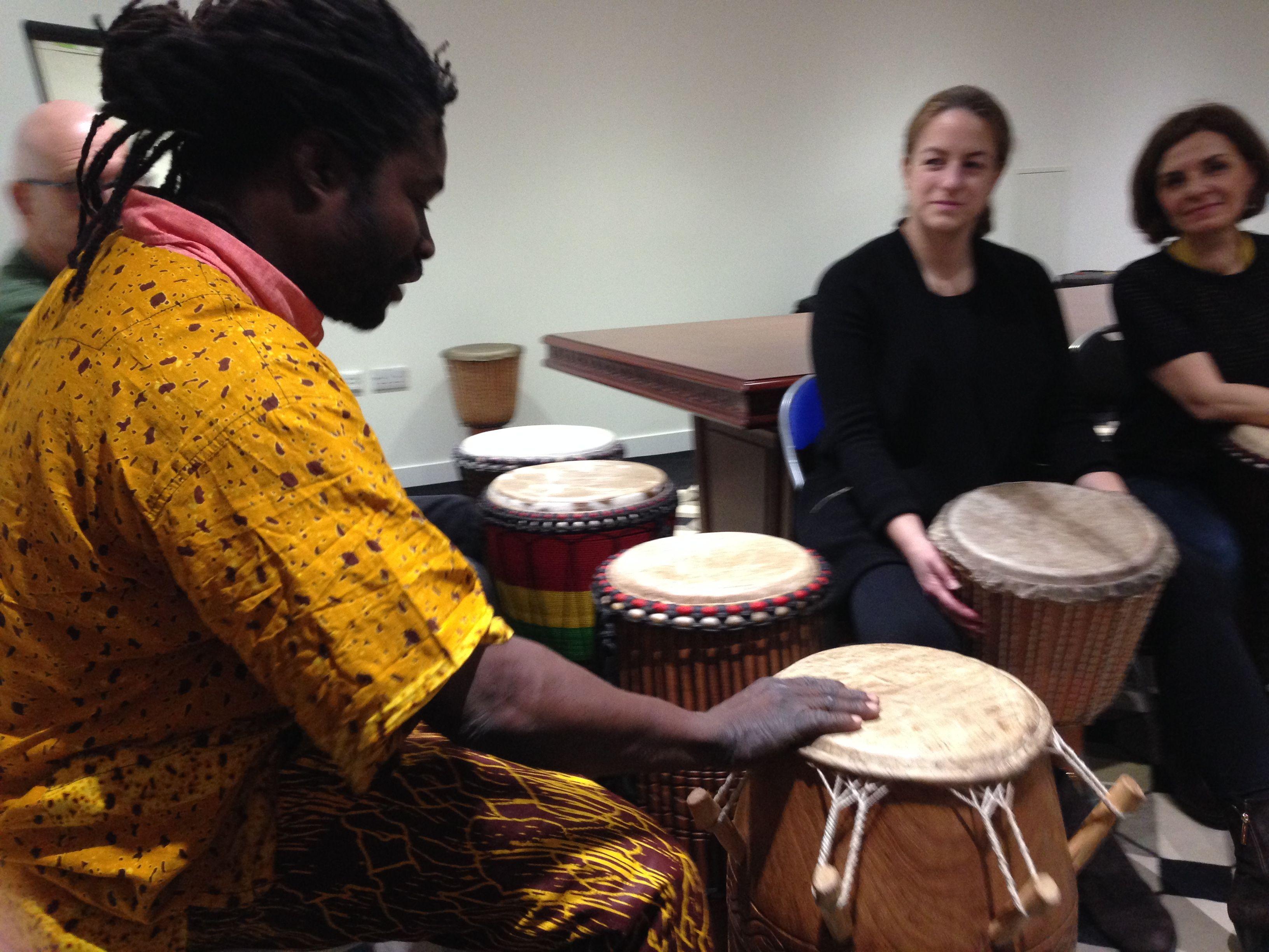 London African Drumming workshop with Samuel Yeboah