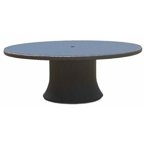Chelsea Round Garden Table ($2,070) ❤ liked on Polyvore featuring home, outdoors, patio furniture, outdoor tables, beige, round outdoor furniture, round outdoor table, rattan garden furniture, circular patio furniture and round patio table
