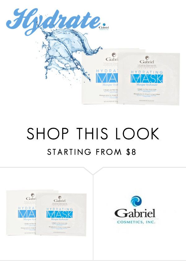 """Hydrating Facial Sheet Mask"" by jeanamelia on Polyvore featuring beauty"