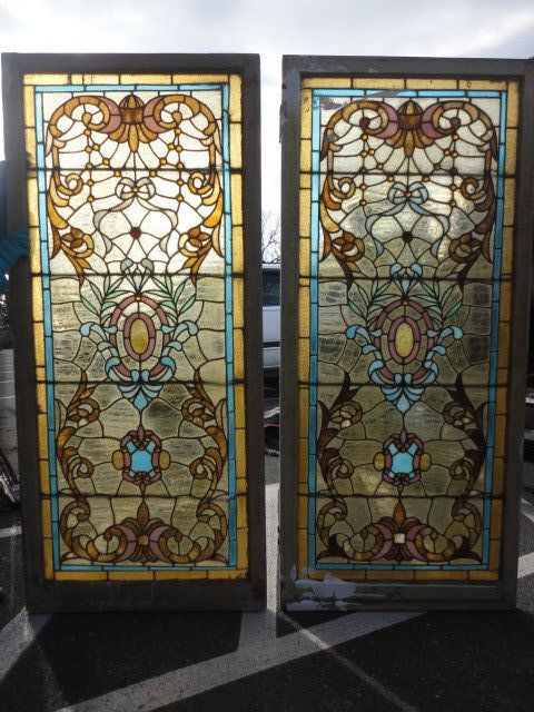 Antique Stained Glass Windows & Doors for Sale in Pennsylvania | Oley  Valley Architectural Antiques Ltd - Antique Stained Glass Windows & Doors For Sale In Pennsylvania
