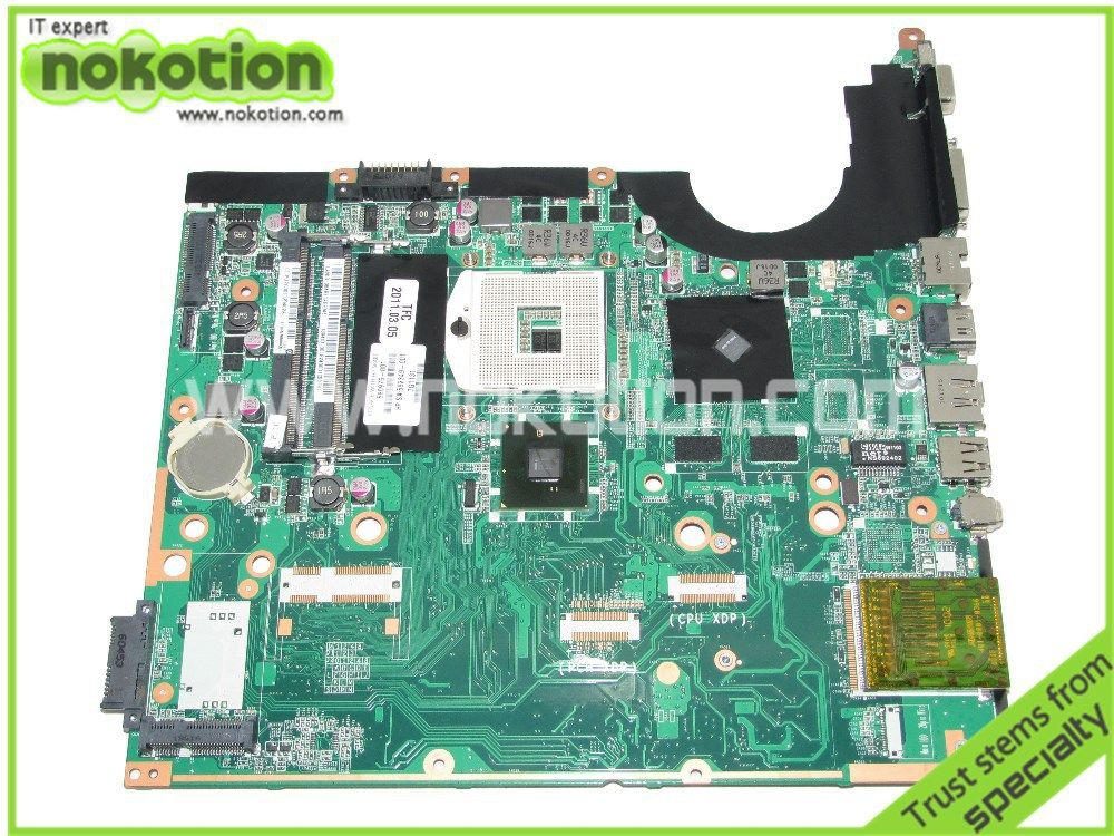 580976-001 DA0UP6MB6F0 Laptop motherboard For hp pavilion
