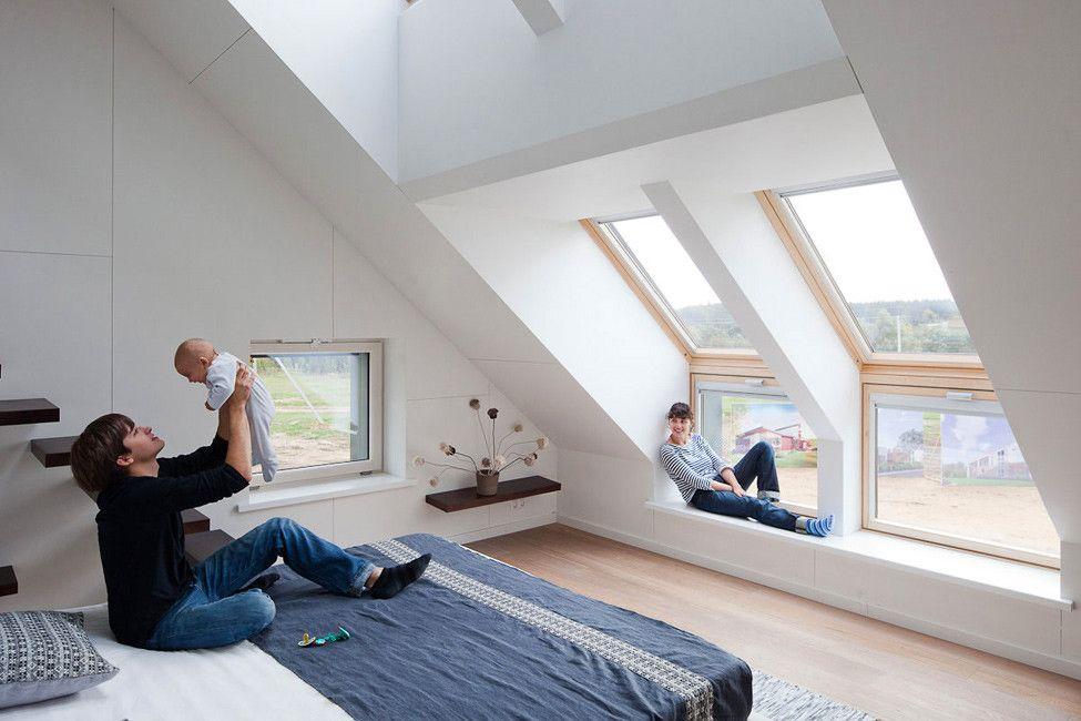 Illuminazione mansarda guida 25 idee per renderla vivibile al massimo finestre - Dachzimmer ausbauen ...
