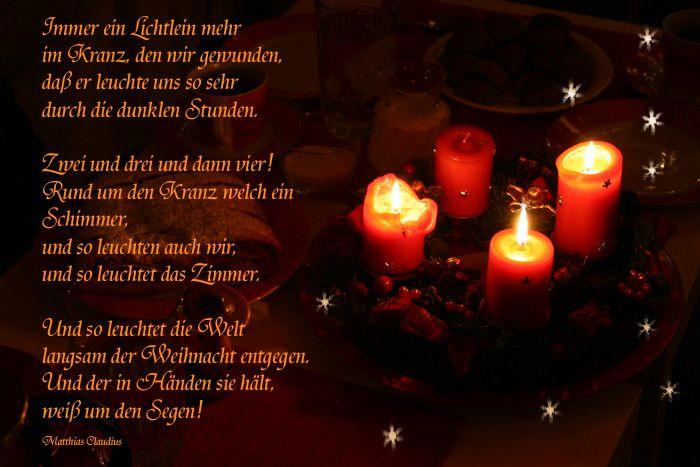Zitate Adventszeit