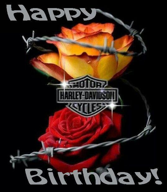 Happy birthday harley davidson roses birthday wishes pinterest happy birthday harley davidson roses m4hsunfo