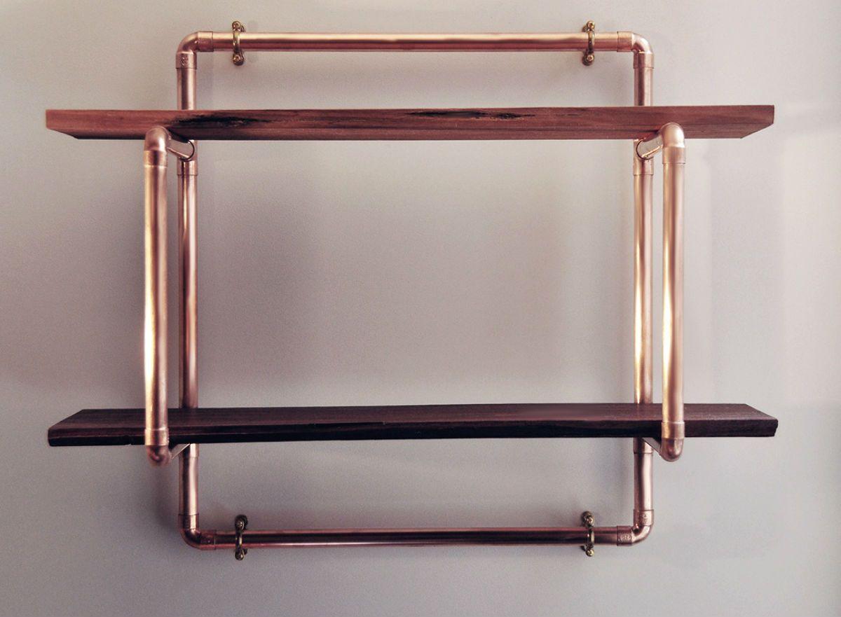 Small 2 Shelf Unit Decor Pinterest Copper Copper