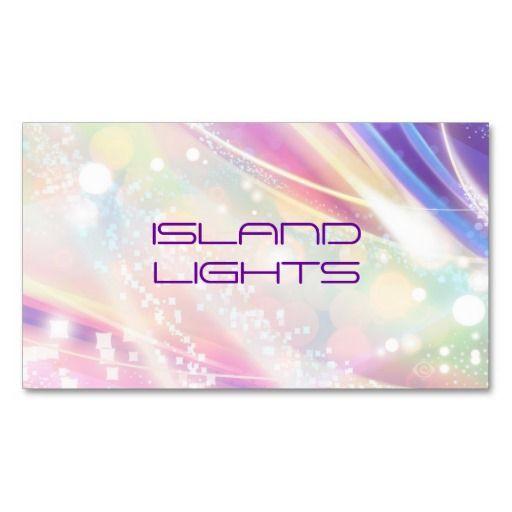 Rainbow Dazzle Business Card Pinterest Business Cards
