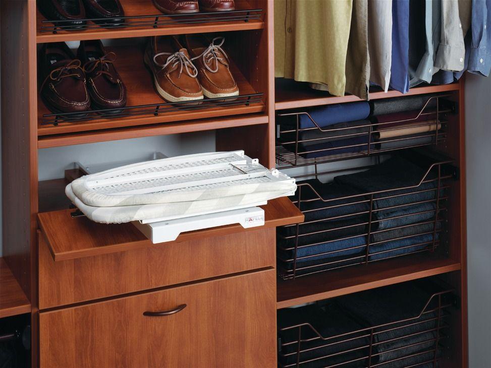 Ironing Board Ironfix Shelf Mounted